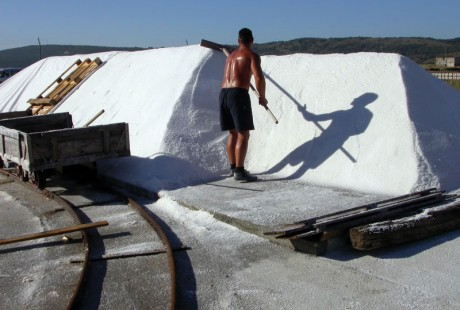 Technological processes of traditional salt production