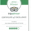 Sečovlje Salina Nature Park awarded the Trip Advisor Certificate of Excellence 2015